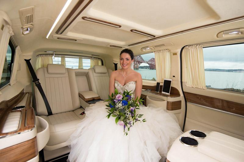 Wedding Chauffeur Edinburgh