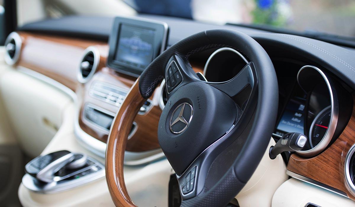 Luxury Mercedes V Class Chauffeur